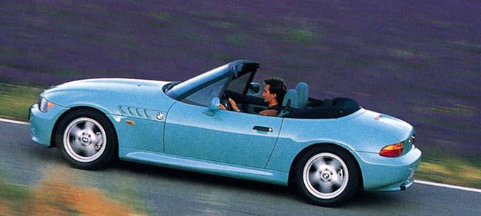 Benchmarking 1997 Bmw Z3 Versus 1974 Jensen Healey